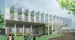 Wageningen UR for Greenhouse Horticulture's Veggie Palace wins design award