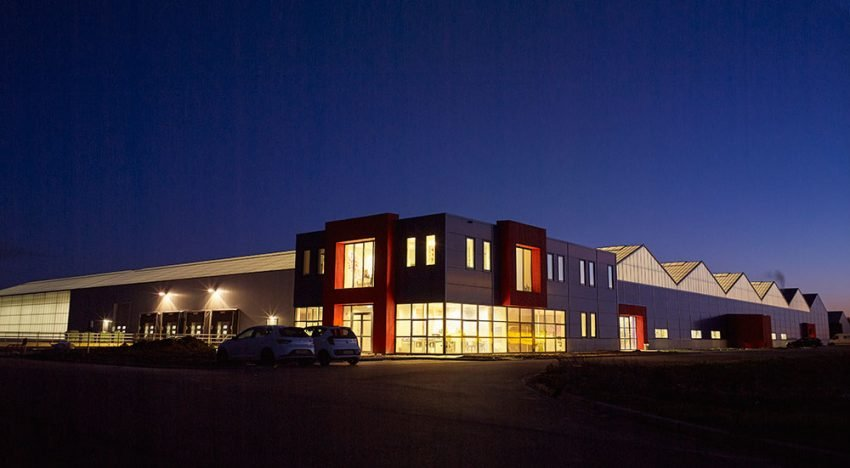 Thermoflor builds sustainable production hall for Kébol