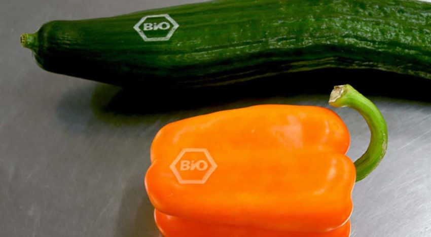 Laser branding of fruit and vegetables on the rise
