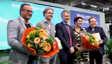 GreenBalanZ and Fresco Flowers winners of the first Greenovation Award