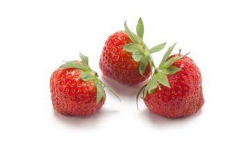 Strawberry flavour model ready for use