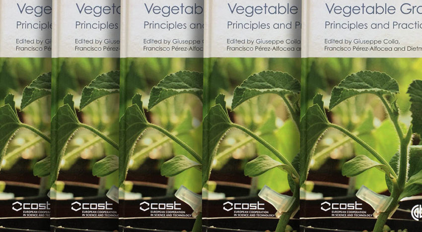 Book about grafting fruiting vegetables