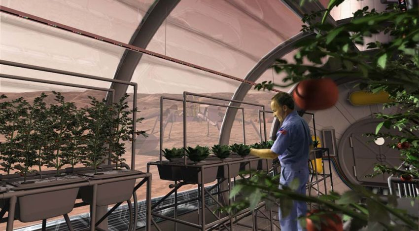 Wageningen UR identifies ideal horticulture site on Mars