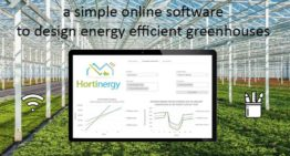 Online software for energy-efficient greenhouses