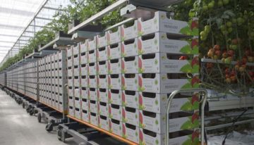 Move your harvest trolley with new technology