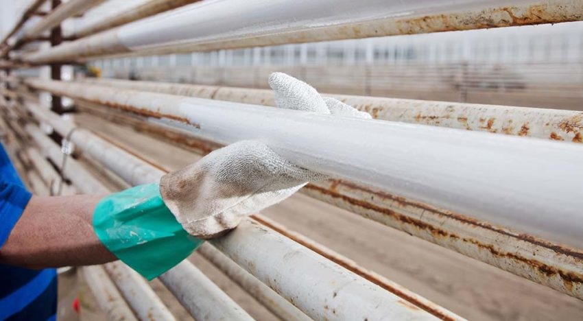 Include painting pipes in a proper maintenance schedule
