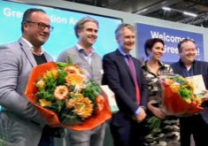 The winners of the first Greenovation Award at Royal FloraHolland Trade Fair